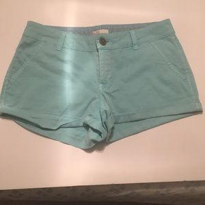 So Brand Turquoise Shorts